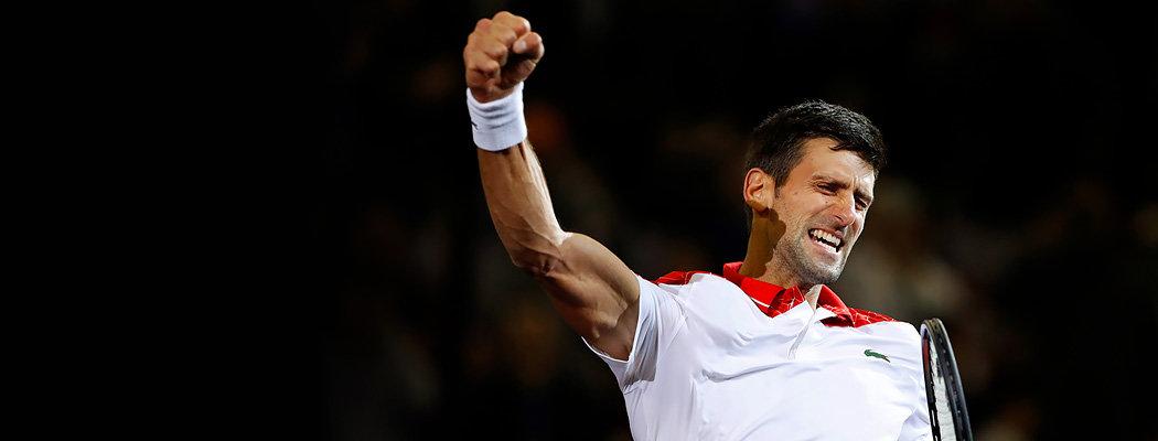Джокович выиграл третий турнир подряд. Он снова король тура