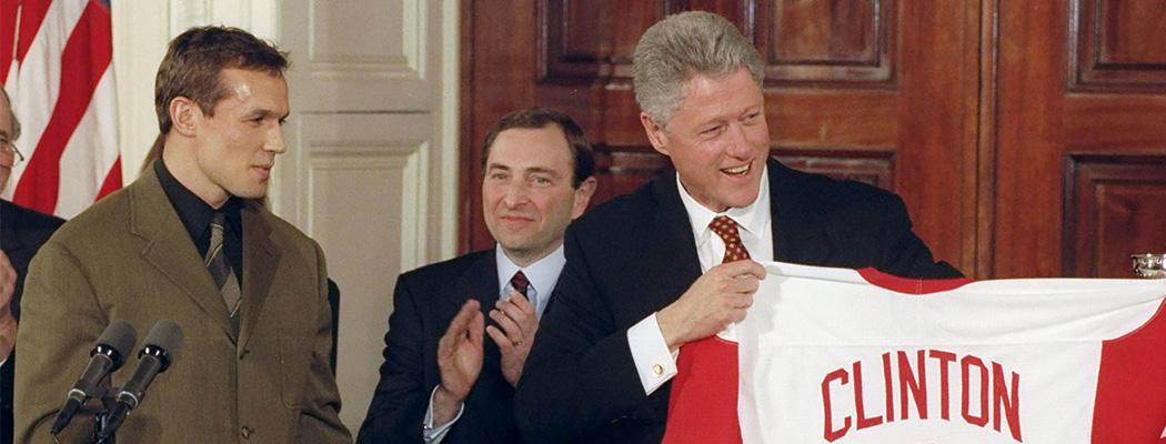 «За Гретцки нам придется отдать весь Техас». Президенты США и хоккей