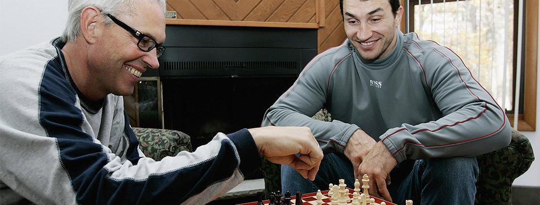 Льюис и Кличко сразятся снова. В этот раз – в шахматы