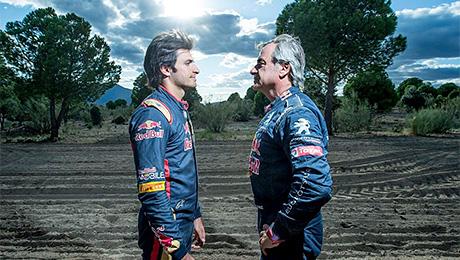 Кто быстрее: пилот «Формулы-1» или раллийный чемпион?