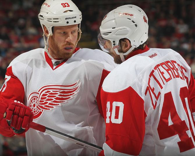 Шведский «Детройт» и другие европейские колонии в клубах НХЛ