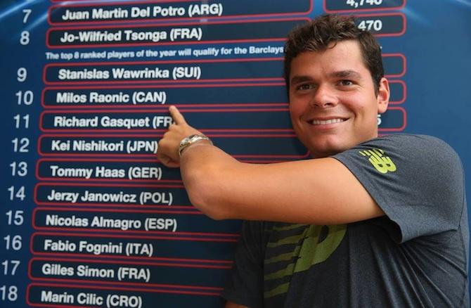 «Мессия в белом свитере». Как Милош Раонич стал главным молодым теннисистом мира