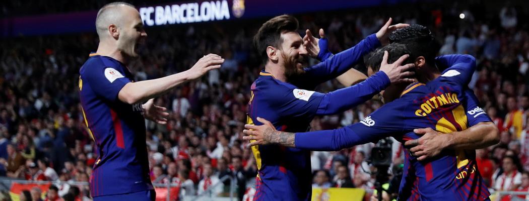 «Барселона» выиграла Кубок Испании, забив 5 (!) «Севилье»