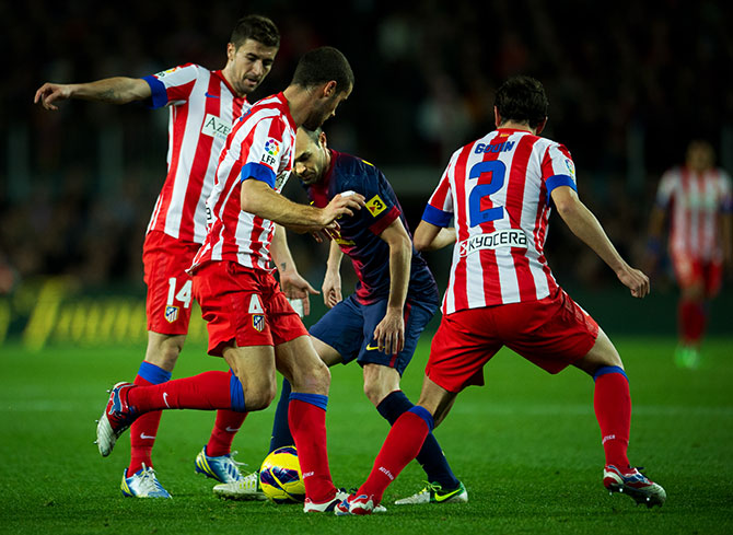 «Атлетико» – «Барселона» и еще 6 главных матчей уик-энда