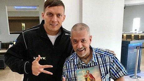 Новый тренер Усика работал с Ломаченко, Джошуа и Гассиевым. Но вообще он катмен