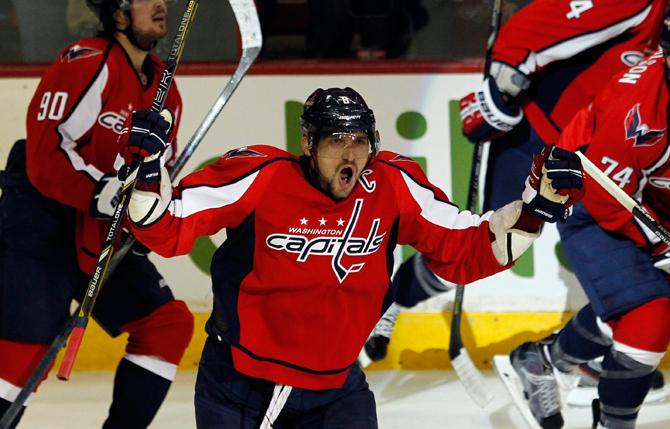 Забить на всех. 32 шайбы Александра Овечкина в нынешнем сезоне НХЛ