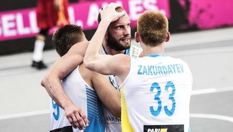 Украинцы вырвали бронзу ЧЕ по баскетболу 3х3