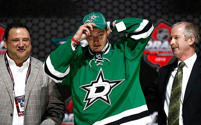 Ничушкин в «Далласе», Барков – во «Флориде». Драфт НХЛ-2013. Как это было