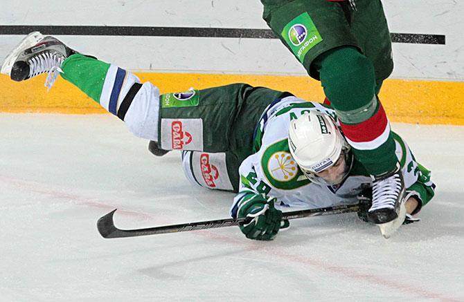 Зеленый свет. Почему серия «Ак Барса» и «Салавата» – лучшая в Кубке Гагарина-2013