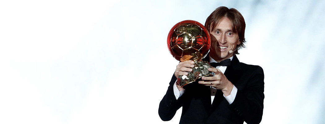 Лука Модрич – обладатель «Золотого мяча»!