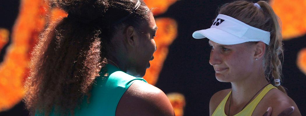 Ястремская со слезами проиграла Серене, Свитолина – в 1/8 Australian Open