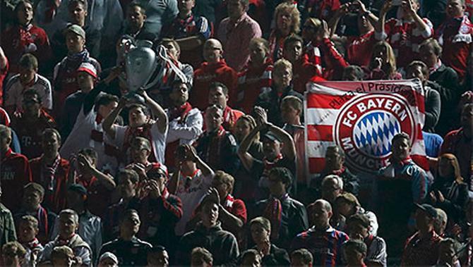 Finale! Как фанаты «Баварии» поддерживали команду в Барселоне