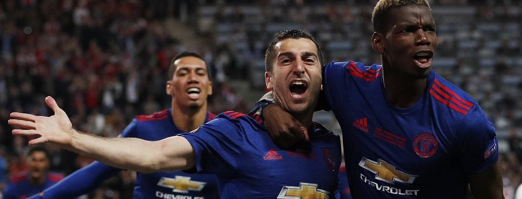 «Манчестер Юнайтед» впервые выиграл Лигу Европы. Видео
