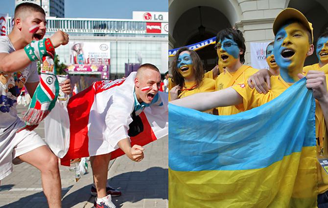 Год после Евро. Польша vs. Украина