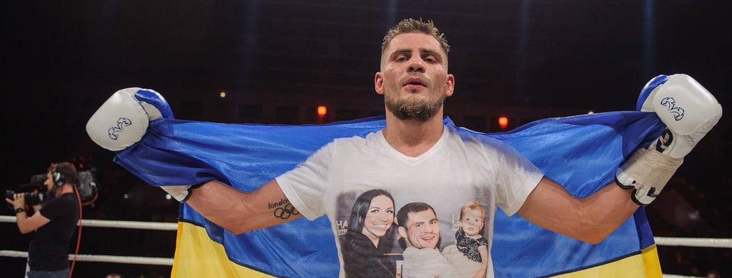 Большой бокс в Киеве: 12 раундов Беринчика, выход в ринг «из бани» и Усик-тренер